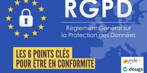 RGPD 6 points clés pour être en conformité